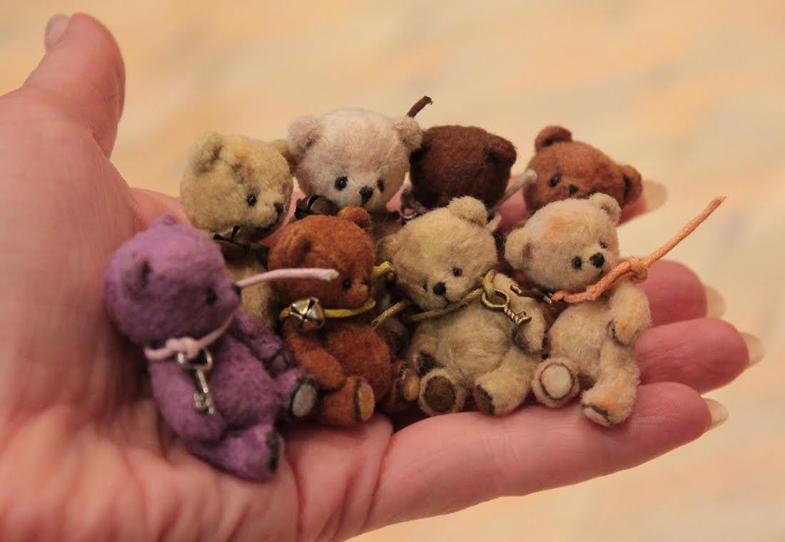 Из чего делают плюшевых медведей
