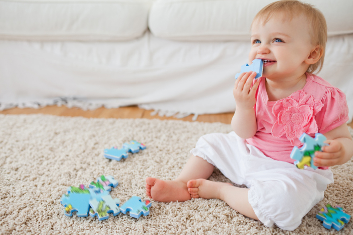 Развивающие игрушки-плюшевый мишка