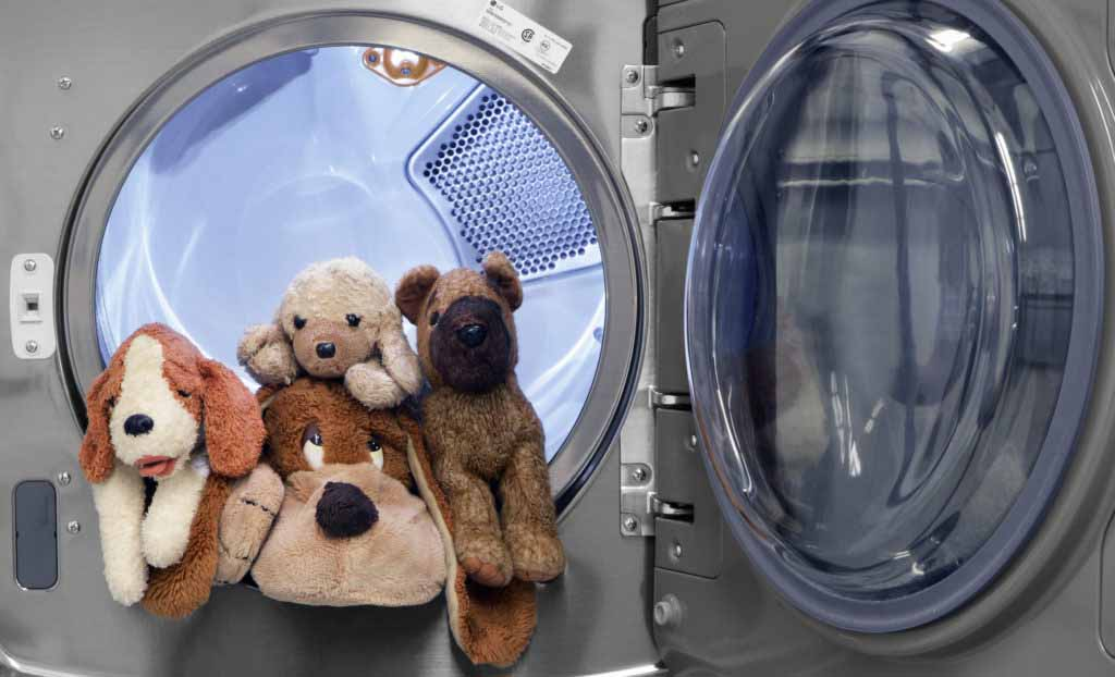 Как постирать мягкие игрушки в стиральной машине