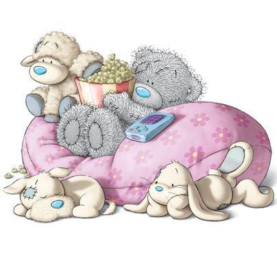 мишка тедди и его друзья
